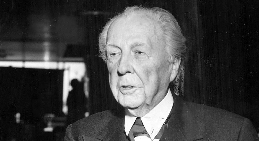 Frannk Lloyd Wright in 1979