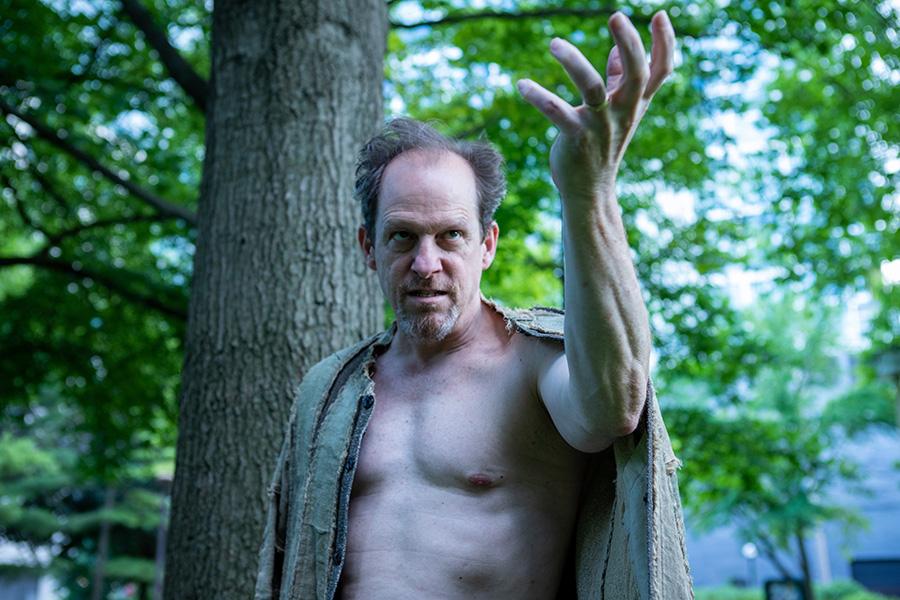 Kevin Theis as Prospero in Oak Park Festival Theatre's The Tempest