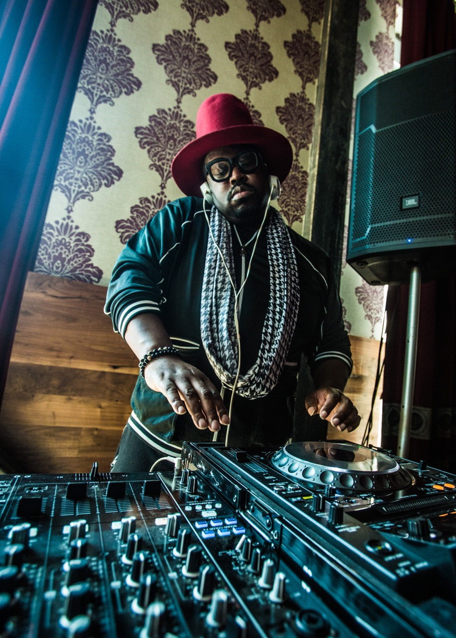 DJ Duane Powell at the Promontory