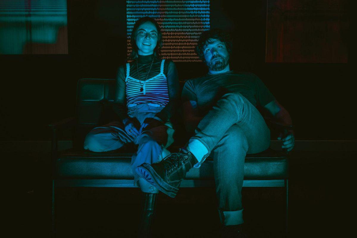 Havadine Stone and Ben Baker Billington of the duo Blue Lick