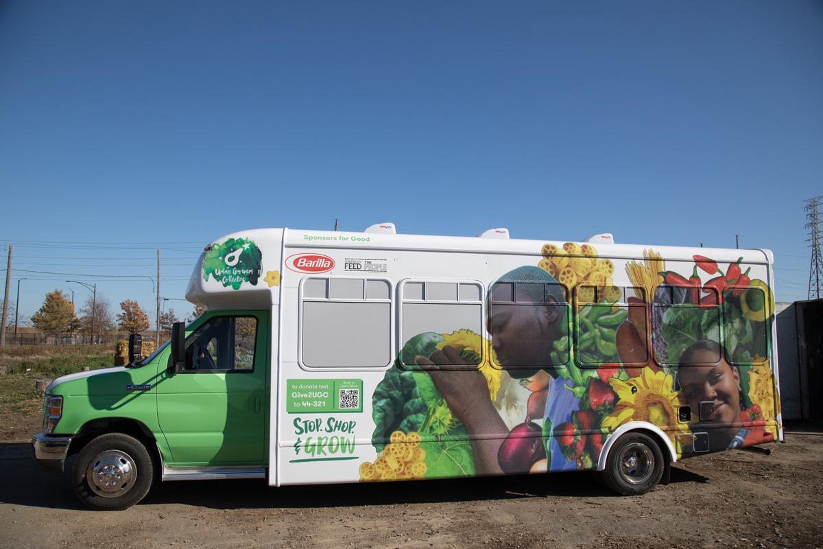 Fresh Moves Mobile Market bus