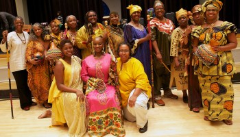 The Drum Divas, a multi-generational group of women who perform in the African Drum tradition.