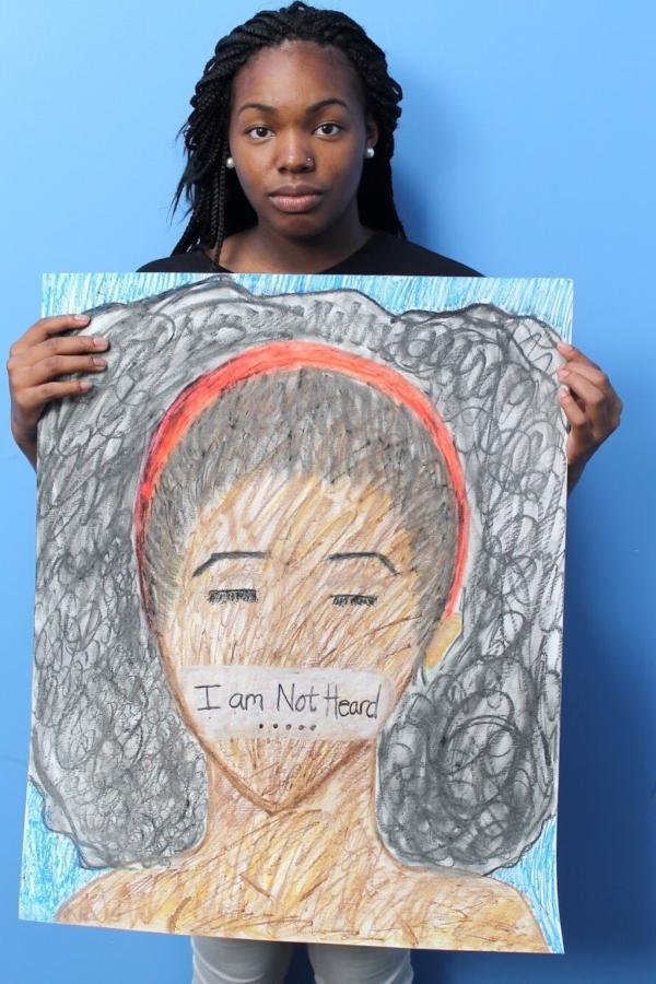 Datavia Stewart, 16, a Girl/Friends Leadership Institute leader