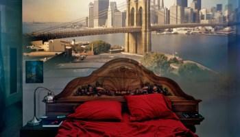 <i>View of the Brooklyn Bridge in Bedroom</i>