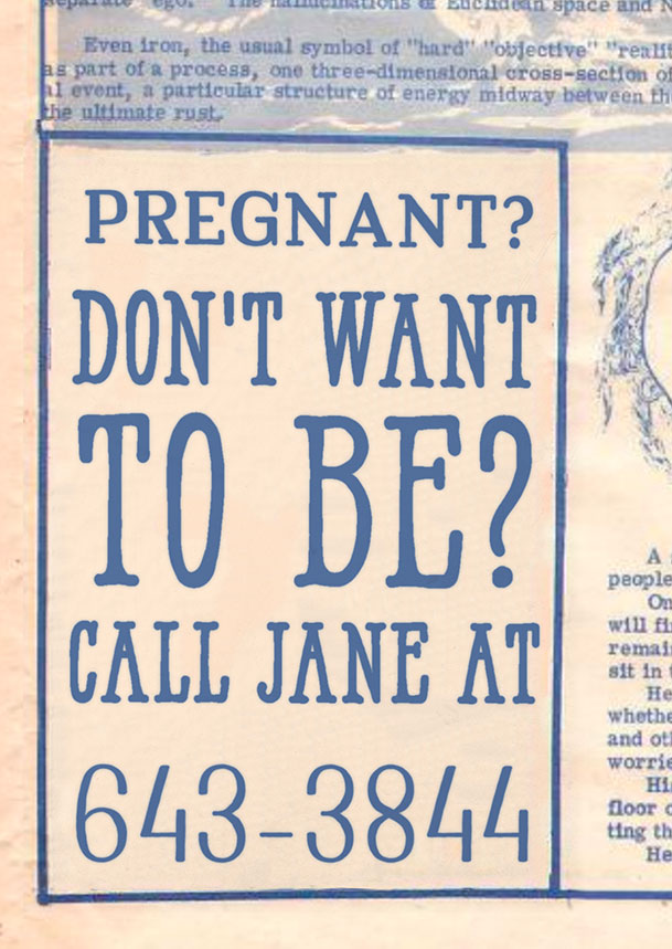 A newspaper ad for Jane