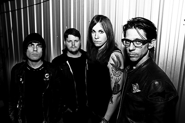 Against Me!, with Laura Jane Grace second from right