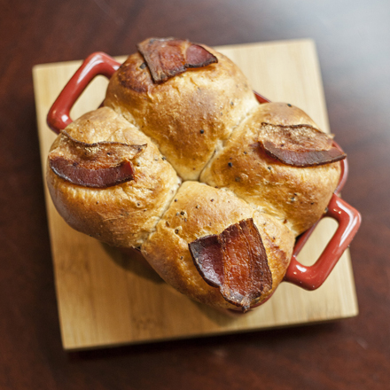The bacon buns