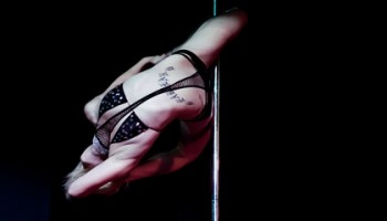 """Pole dancer Alethea Austin is classy and """"fucking strong as hell."""""""