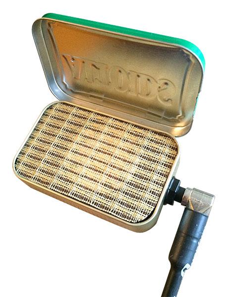 Laura Doherty's Altoids-tin amplifier