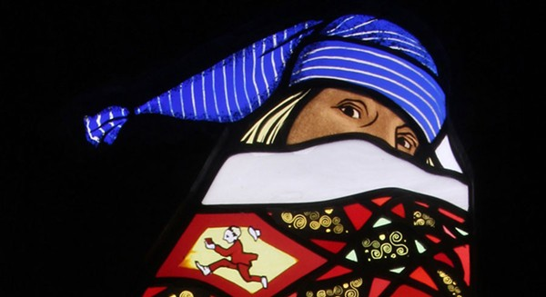"""Contemporary artists display their stained glass work at """"American Glass Now."""""""