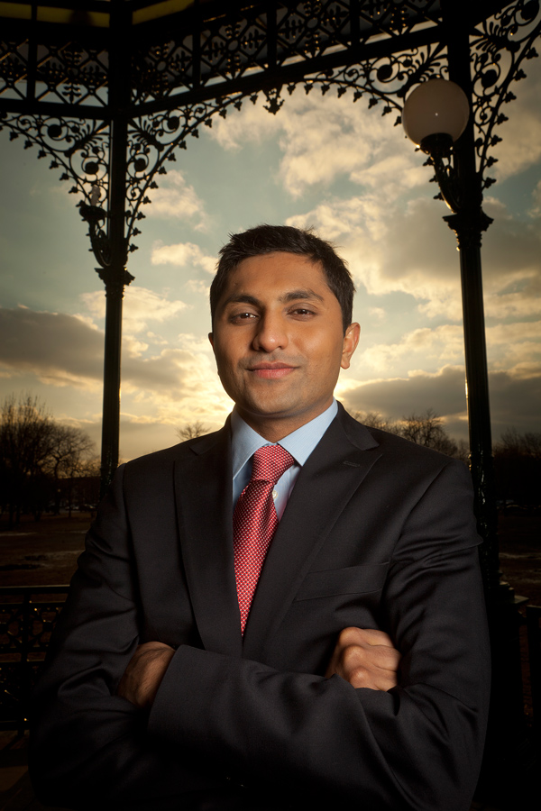 Forty-seventh Ward Alderman-elect Ameya Pawar.
