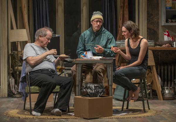 Francis Guinan, Tim Hopper, and Helen Sadler