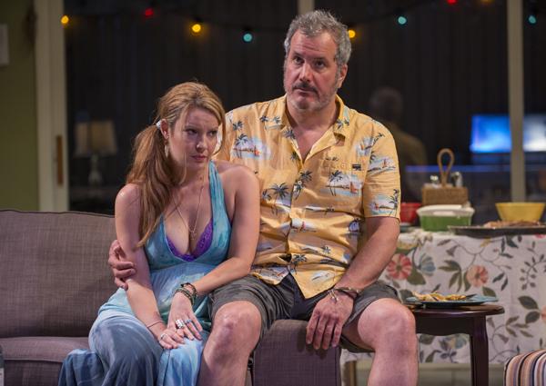 Kate Arrington and Keith Kupferer