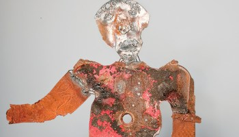 Untitled sculpture by Clyde Angel