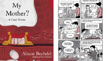 <i>Are You My Mother?</i> (cover and one page above) offers no earth-shattering plot twist, just Alison Bechdel