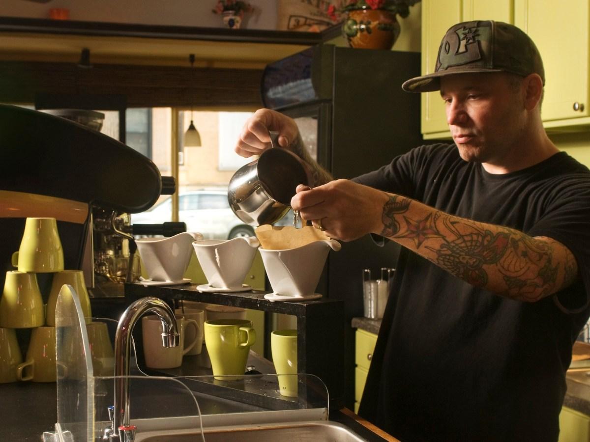 Kevin Ashtari at Asado Coffee Company