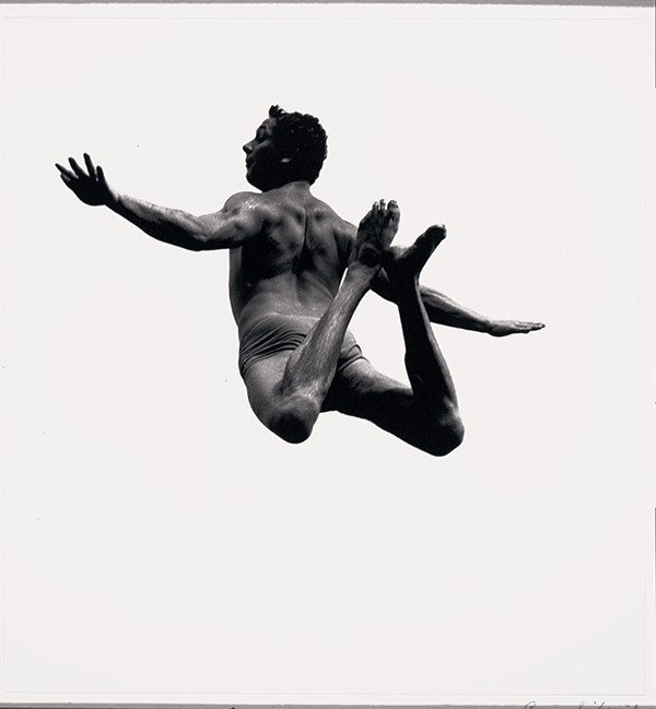 """An image from Siskind's """"Pleasures and Terrors of Levitation"""" series"""