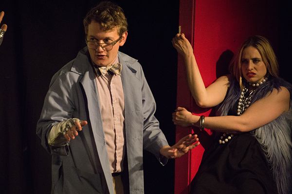 Zack Mast and Molly Miller in <i>Ask Your Doctor: A Pharmaceutical Musical</i>