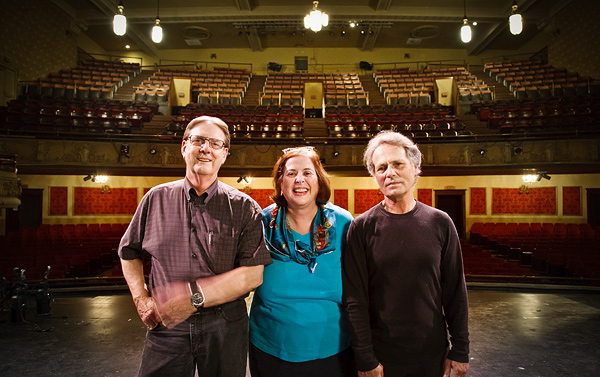 Jerry Kennedy, Joan Mazzonelli, and John Schmitz