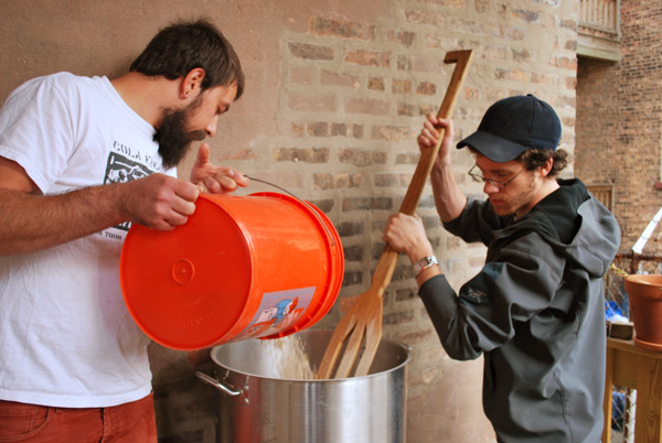 Beejay Oslon and Gerrit Lewis of Pipeworks Brewing