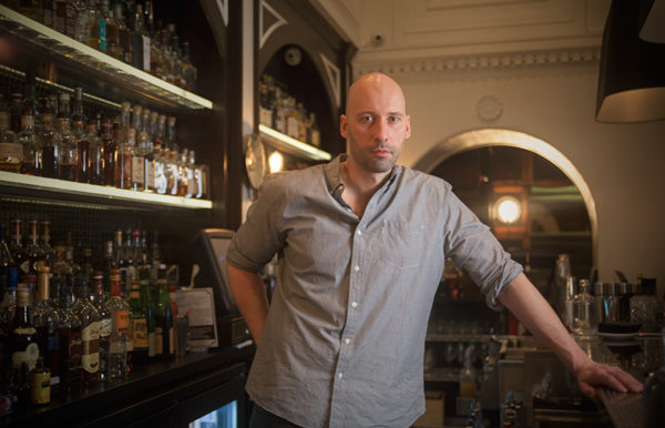 Benjamin Schiller of the Berkshire Room, where there's a library of whiskeys very worth your time