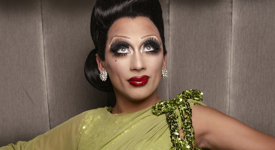 """Bianca Del Rio talks about becoming """"gay famous"""" during her show on Sun 10/9."""