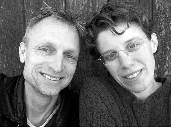 Ron Bieganski and Anita Evans