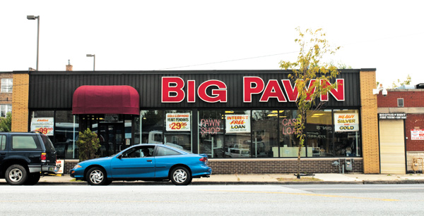 """21st Ward alderman Howard Brookins Jr. says of Big Pawn owner Alvin Bell Jr., """"He's a decent guy doing a decent thing. He runs a family business."""""""