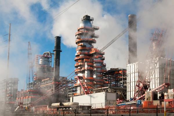 The BP refinery
