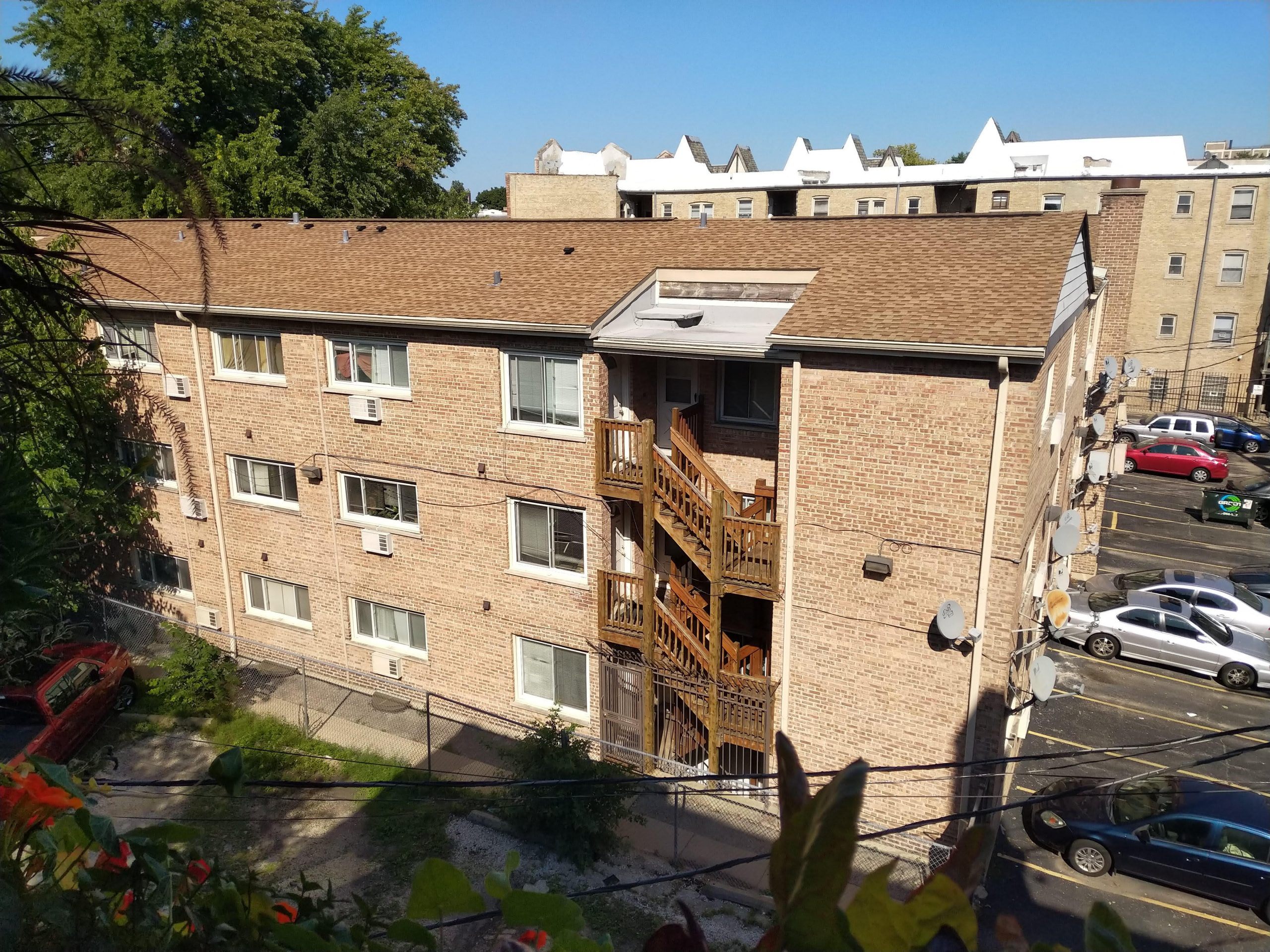 The Rogers Park apartment where Sam lives is owned by Greenspire, a company that bought up condo units at a bargain after the housing market collapsed.