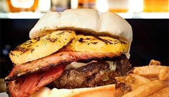 Mahalo burger at the Bad Apple