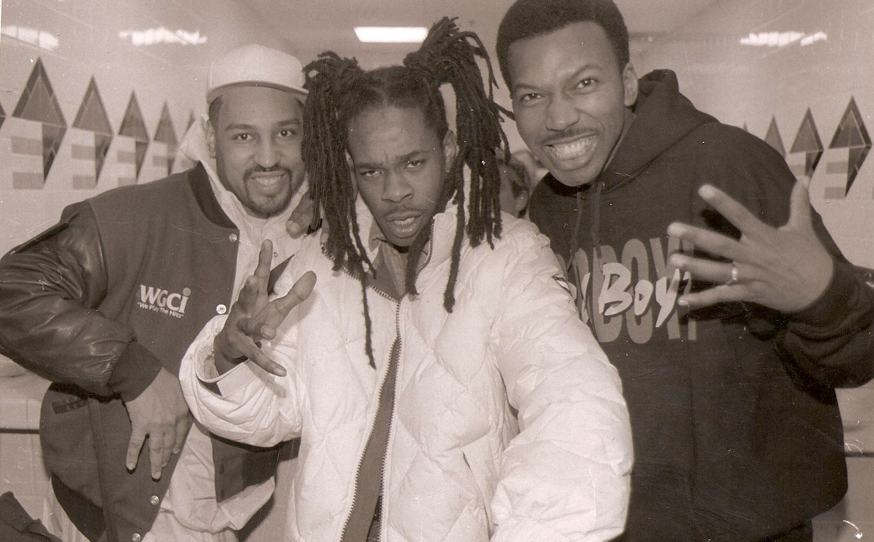 The Dizz and Mike Love with Busta Rhymes