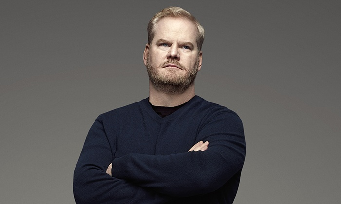 Jim Gaffigan openly ridicules himself for his eating habits, poor parenting, and general apathy at the Chicago Theatre Thursday 10/12.
