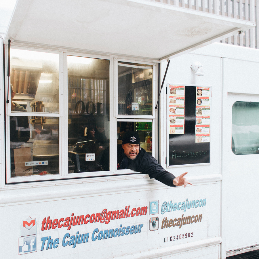 Cajun Connoisseur truck owner Kyle Kelly plans to open a brick-and-mortar location soon because he doesn't believe it's possible to survive as a food truck in Chicago without also doing catering or operating a storefront restaurant.