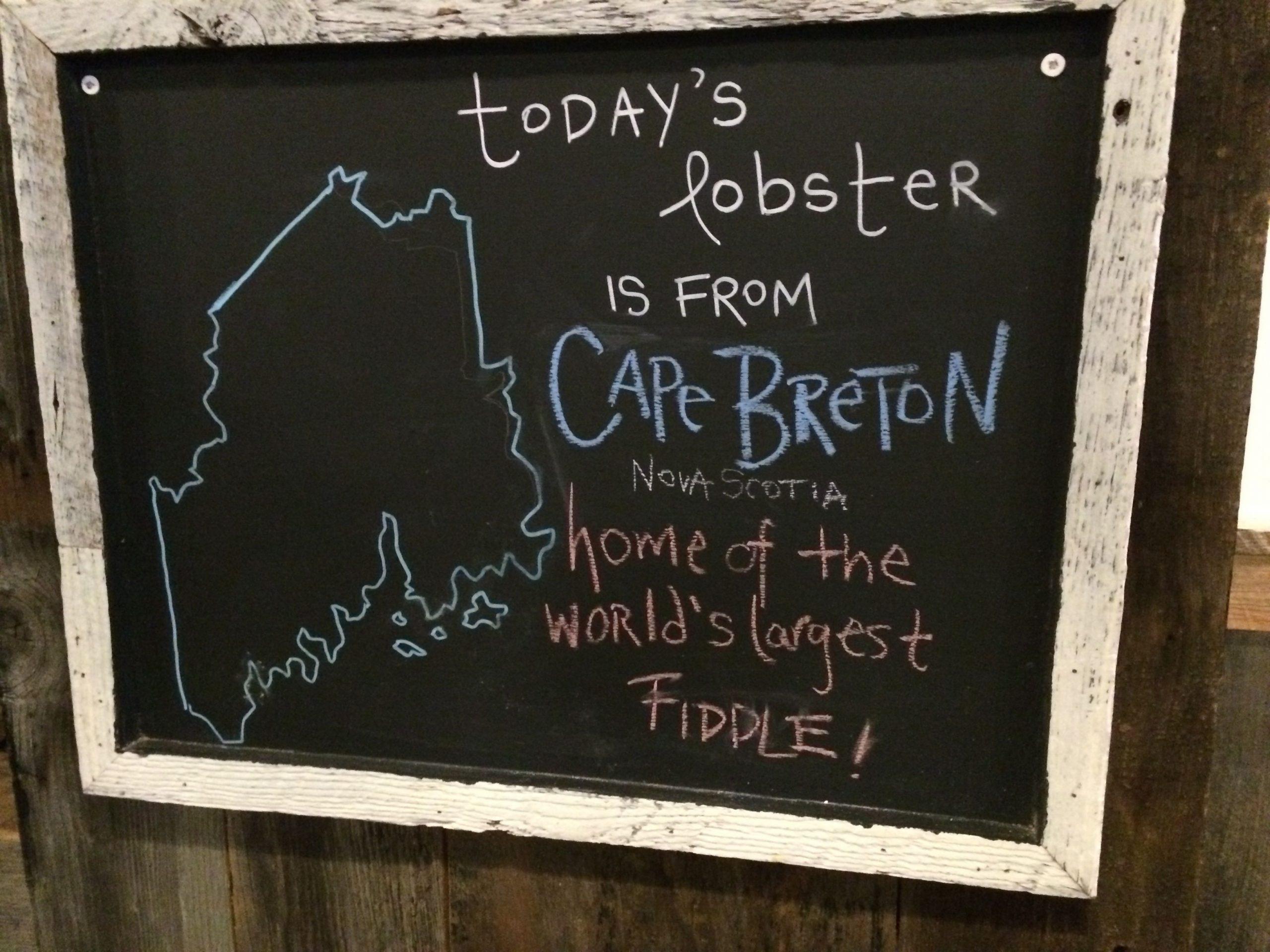 Terroir, Luke's Lobster