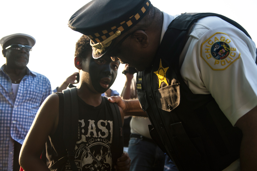 """Johnson and other CPD officials have said that going forward, community policing will no longer be an """"alternative"""" strategy, but rather the department's guiding philosophy."""