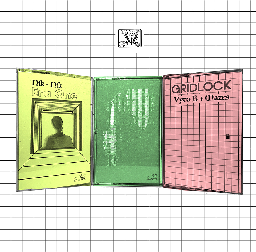This week Anderson's label Sanzimat International releases three cassettes in its Lithuanian Diaspora series: <i>Era One</i> by Nik-Nik (aka Nicole Baksinskas), <i>Catahua Blanca</i> by T Stephen, and <i>Gridlock</i> by VytoB and Mazes.