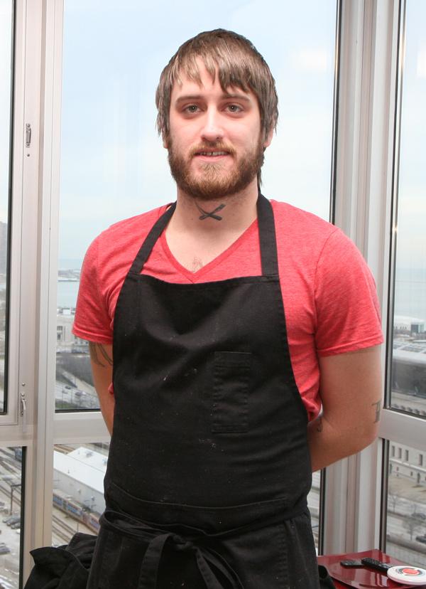 Crux chef Brandon Baltzley