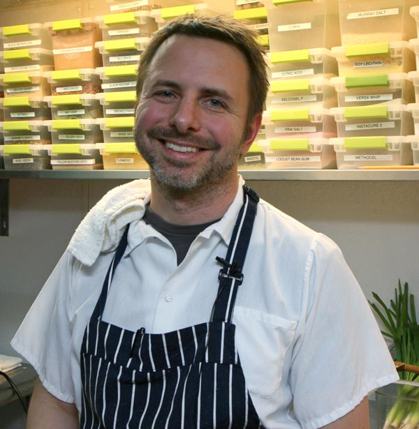 Rootstock chef Duncan Biddulph