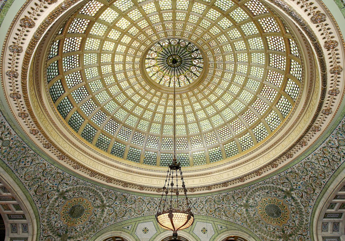 Best Building to Show Out of Town Guests: Chicago Cultural Center