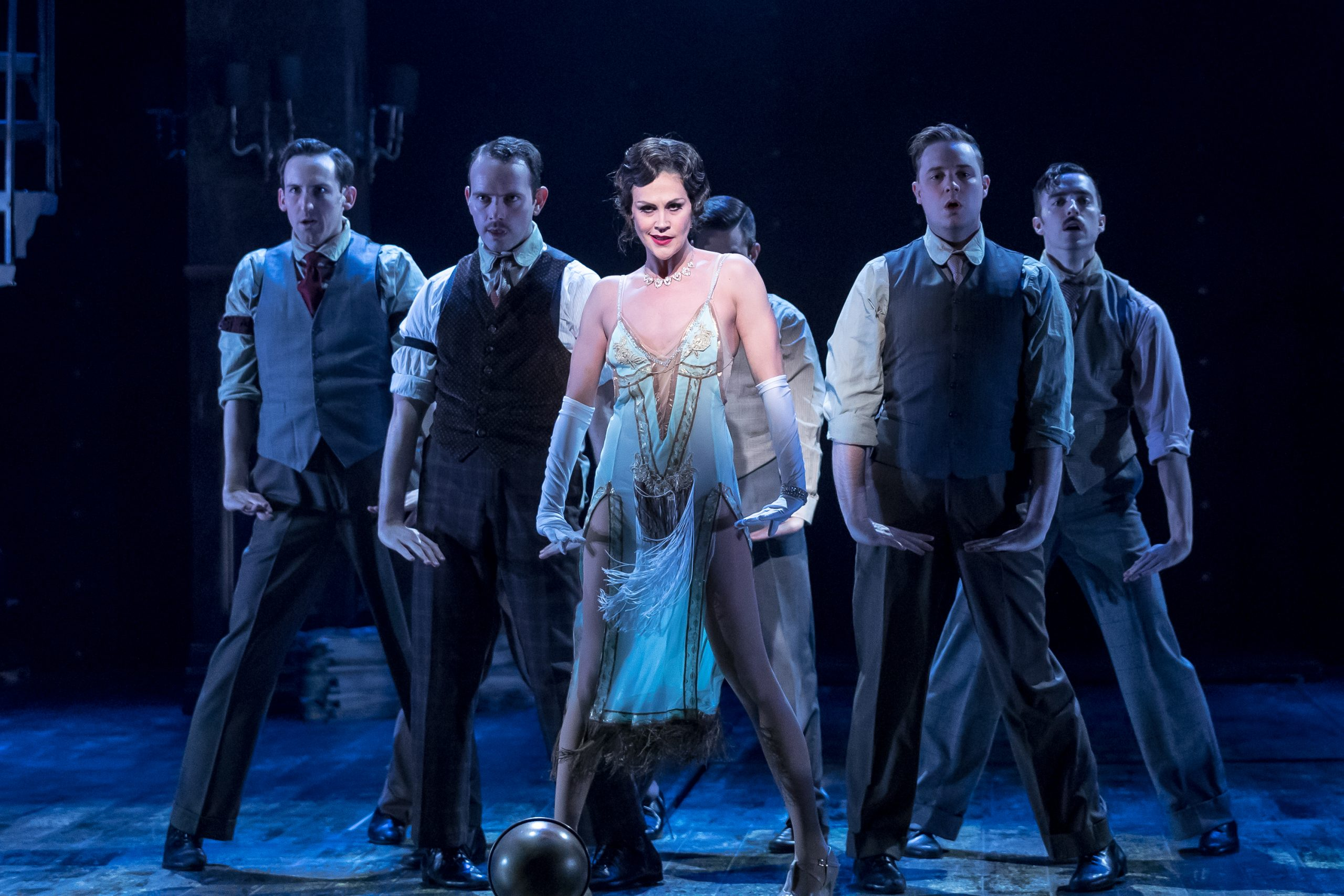 Aléna Watters and ensemble in <i>Chicago</i>