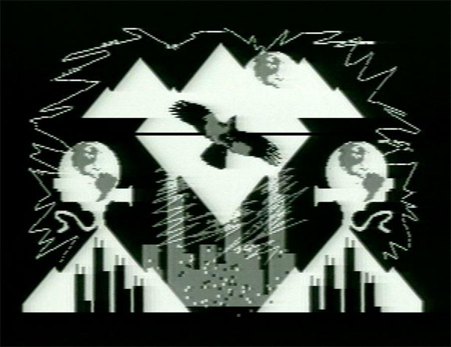 <i>Montana</i>, Jane Veeder, video, 1982.