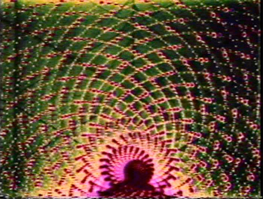 <i>Spiral 5 PTL</i>, Dan Sandin, Tom DeFanti, and Mimi Shevitz, video, 1979.