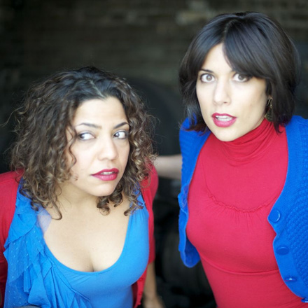 Dominizuelan (that's one Dominican and one Venezuelan, fyi) play the Chicago Improv Fest.
