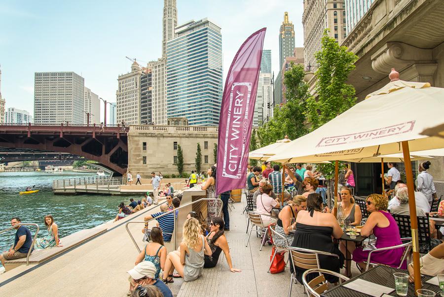 City Winery's pop-up on the Riverwalk