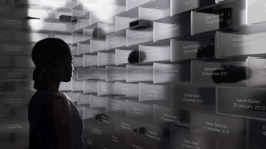 The Gun Violence Memorial Project