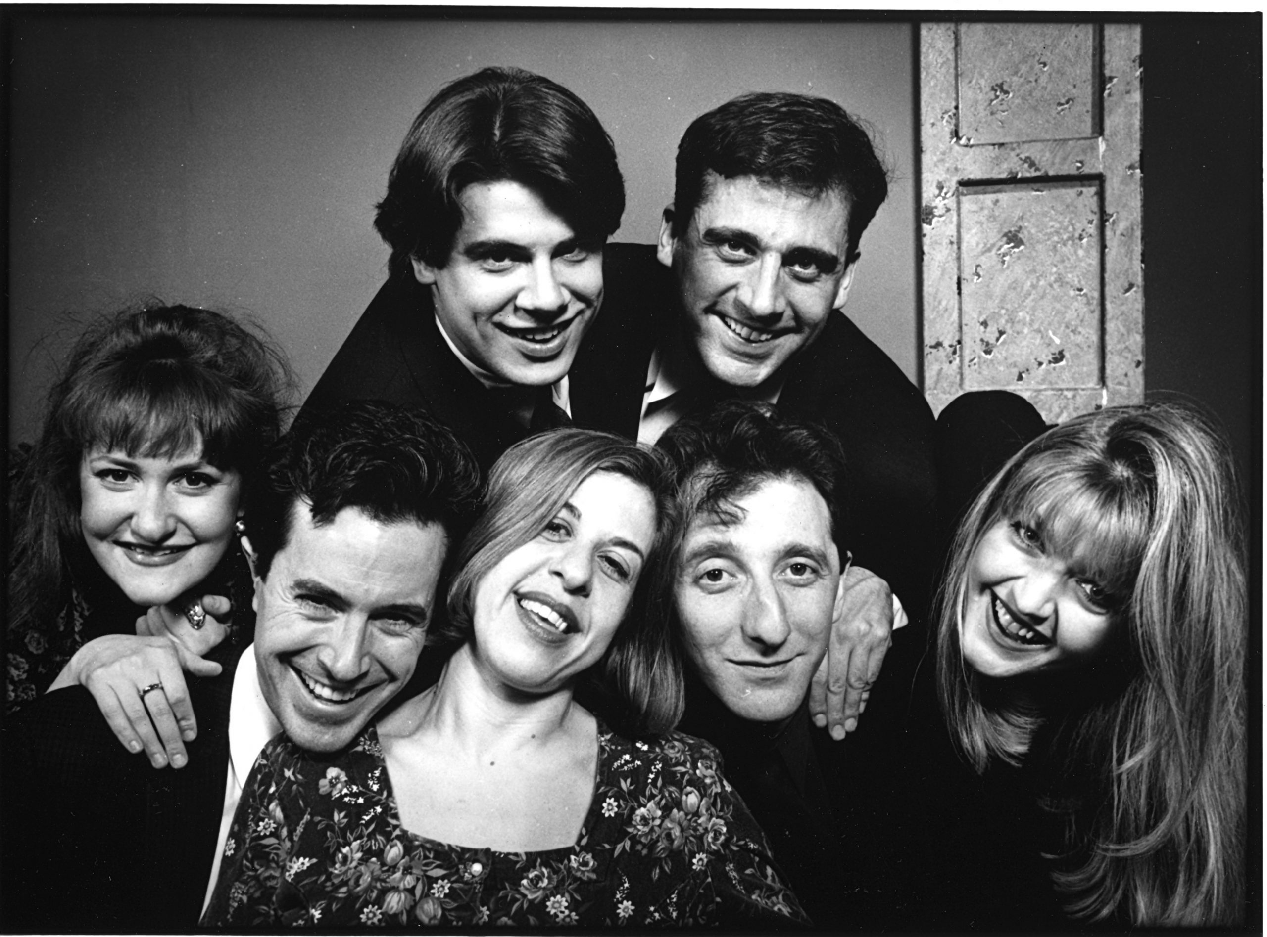 Ruth Rudnick, Colbert, Scott Allman, Jackie Hoffman, Steve Carell, David Razowsky, Fran Adams