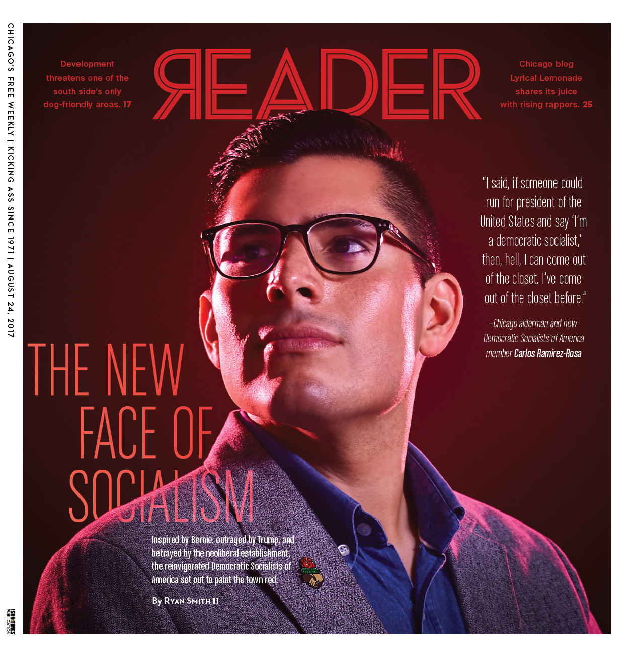 The cover of last week's <i>Reader</i>
