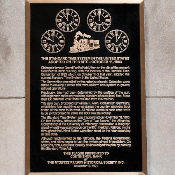 CST plaque