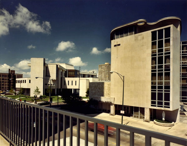 Cuneo Hospital campus, 1970s